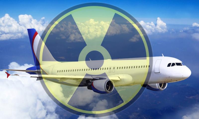 Какую дозу радиации вы получите летая на самолётах?