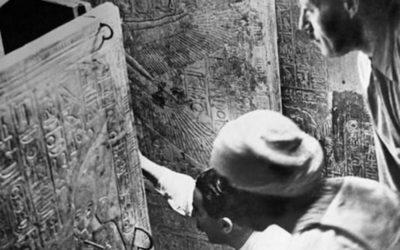 Тайна Египетской гробницы раскрытая радиация.